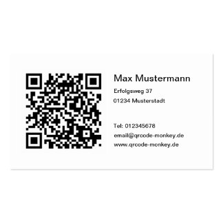 Aileron code visiting cards business card