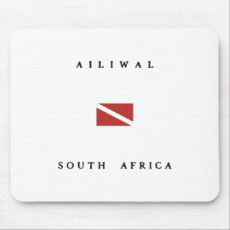 Ailiwal South Africa Scuba Dive Flag Mouse Pad