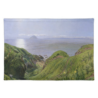 Ailsa Craig and the Isle of Arran, Scotland Placemat