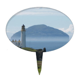 Ailsa Craig, Turnberry Lighthouse Cake Topper