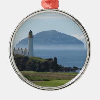 Ailsa Craig, Turnberry Lighthouse Christmas Ornaments