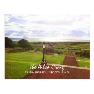 Ailsa Craig, Turnberry, Scotland Postcard