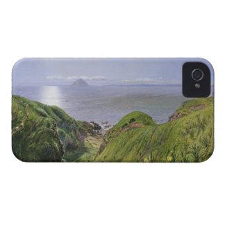 Ailsa Craig y la isla de Arran, Escocia Case-Mate iPhone 4 Coberturas