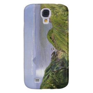 Ailsa Craig y la isla de Arran, Escocia Funda Para Galaxy S4