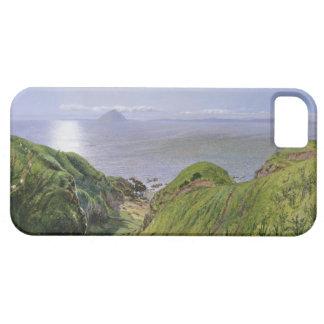 Ailsa Craig y la isla de Arran, Escocia iPhone 5 Carcasas