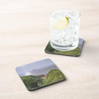 Ailsa Craig y la isla de Arran, Escocia Posavasos De Bebidas