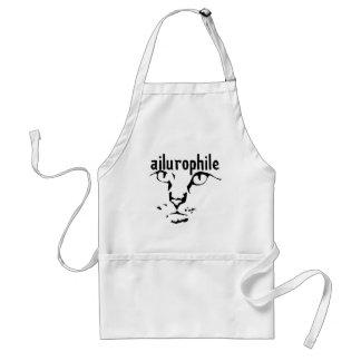 ailurophile apron