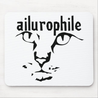 ailurophile mouse pad