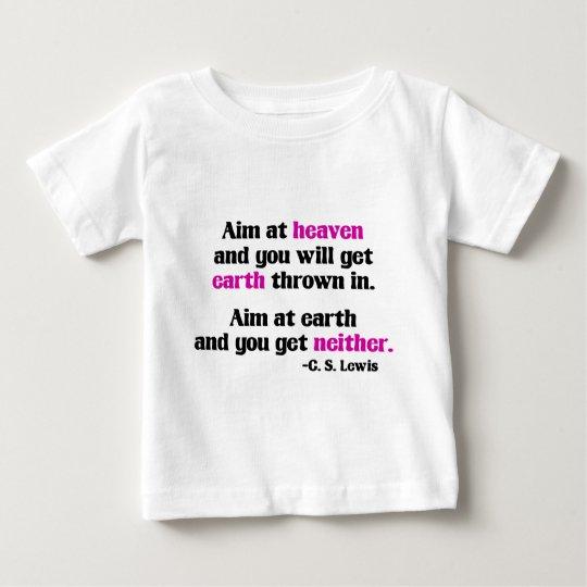 Aim At Heaven Baby T-Shirt