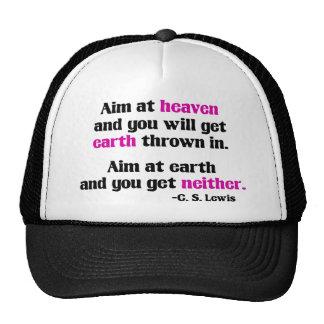 Aim At Heaven Trucker Hat