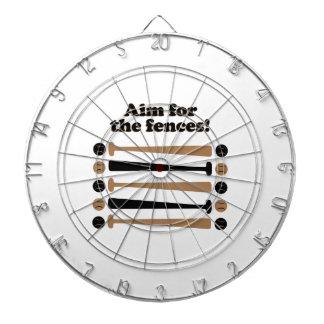 Aim for Fences Dart Boards