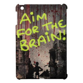 Aim For The Brain Case For The iPad Mini