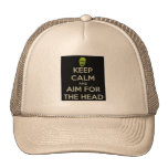 Aim for the Head! Trucker Hat