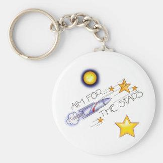 Aim For The Stars! - Keychain