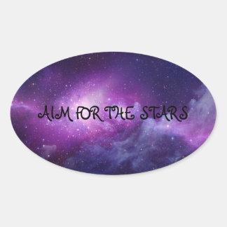 AIM FOR THE STARS Sticker