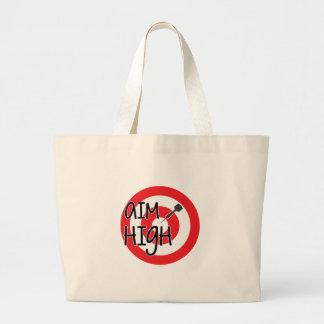 Aim High Canvas Bags