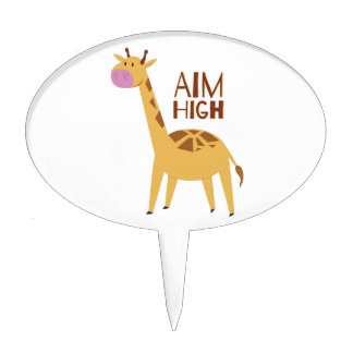 Aim High Cake Toppers
