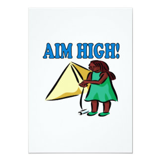 Aim High Card