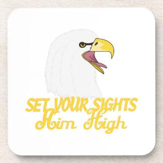 Aim High Eagles Coaster
