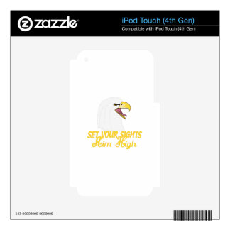 Aim High Eagles Skin For iPod Touch 4G