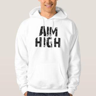 AiM HiGH/Marry The Block Black Hoodie