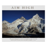 Aim High Posters