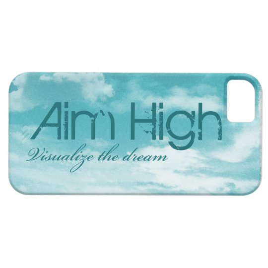 Aim High. Visualize The Dream. iPhone SE/5/5s Case