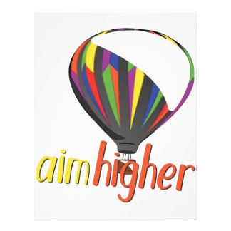 Aim Higher Letterhead