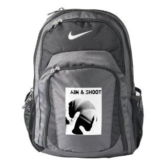 Aim & Shoot Motivational Basketball Backpack