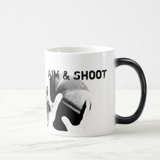 Aim & Shoot Motivational Basketball Magic Mug