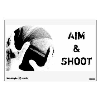 Aim & Shoot Room Stickers