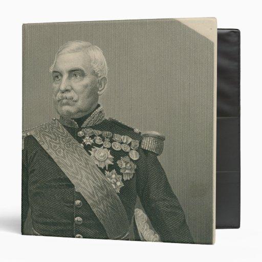 "Aimable Jean Jacques Pelissier Duc de Malakof Carpeta 1 1/2"""