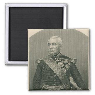 Aimable Jean Jacques Pelissier Duc de Malakof Imán Cuadrado