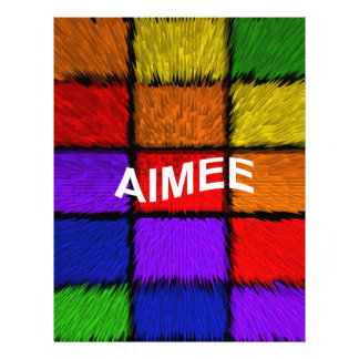 AIMEE ( female names ) Letterhead