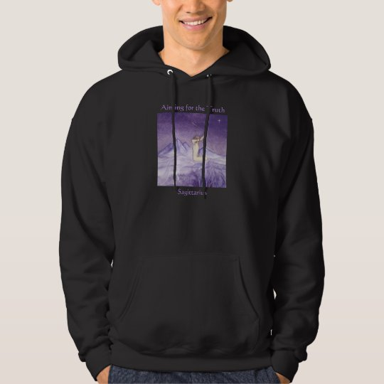 Aiming for the Truth - Sagittarius Hoodie