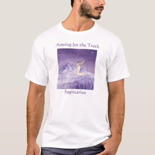 Aiming for the Truth - Sagittarius T-Shirt