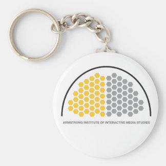 AIMS Store Basic Round Button Keychain