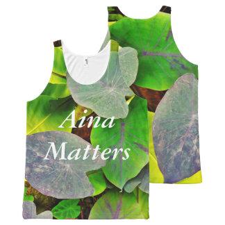 Aina Matters- Kalo Man All-Over-Print Tank Top