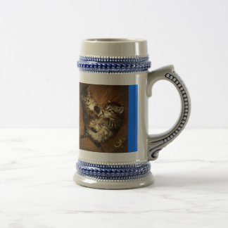 Aine and Brigit the Pretty Kitties Beer Stein