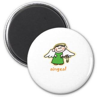 aingeal (little angel in Irish) Magnet