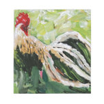 Ainsley the Rooster just for you full of color Memo Notepads
