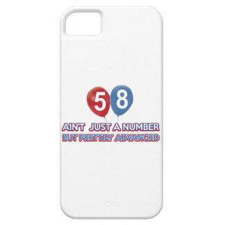 aint 58 apenas un número iPhone 5 Case-Mate protectores