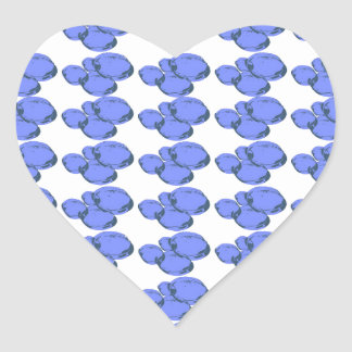 Ain't Bad Being Blue Heart Sticker
