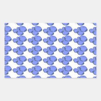 Ain't Bad Being Blue Rectangular Sticker