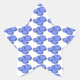 Ain't Bad Being Blue Star Sticker