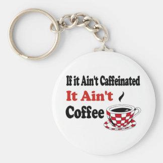 Ain't Coffee Keychain