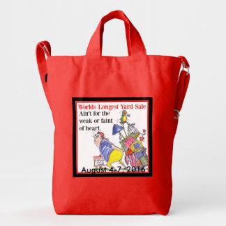 Ain't For the Weak Garage Sale Duck Tote Duck Bag