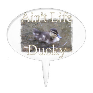 Ain't Life Ducky Cake Topper