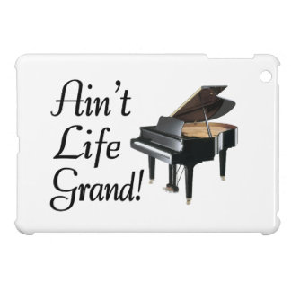 Ain't Life Grand Piano iPad Mini Covers