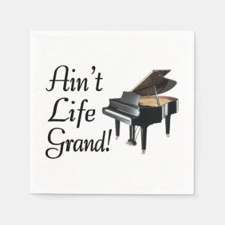 Ain't Life Grand Piano Napkin